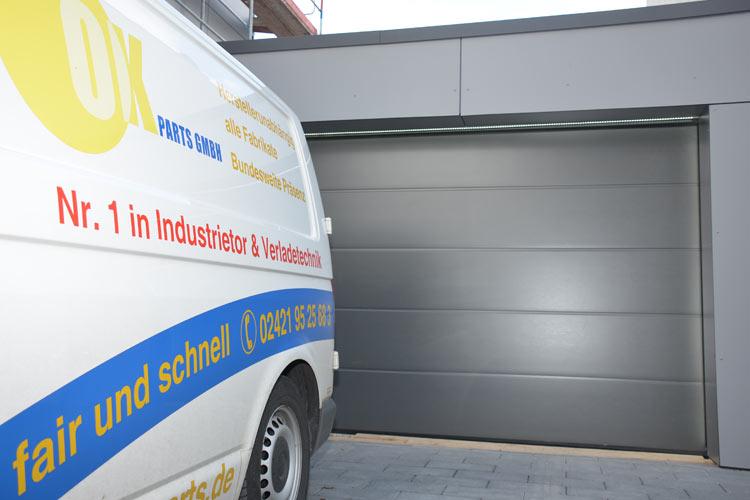 OK Parts GmbH Garagentore