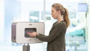 Smartdoor Desinfektionsstation